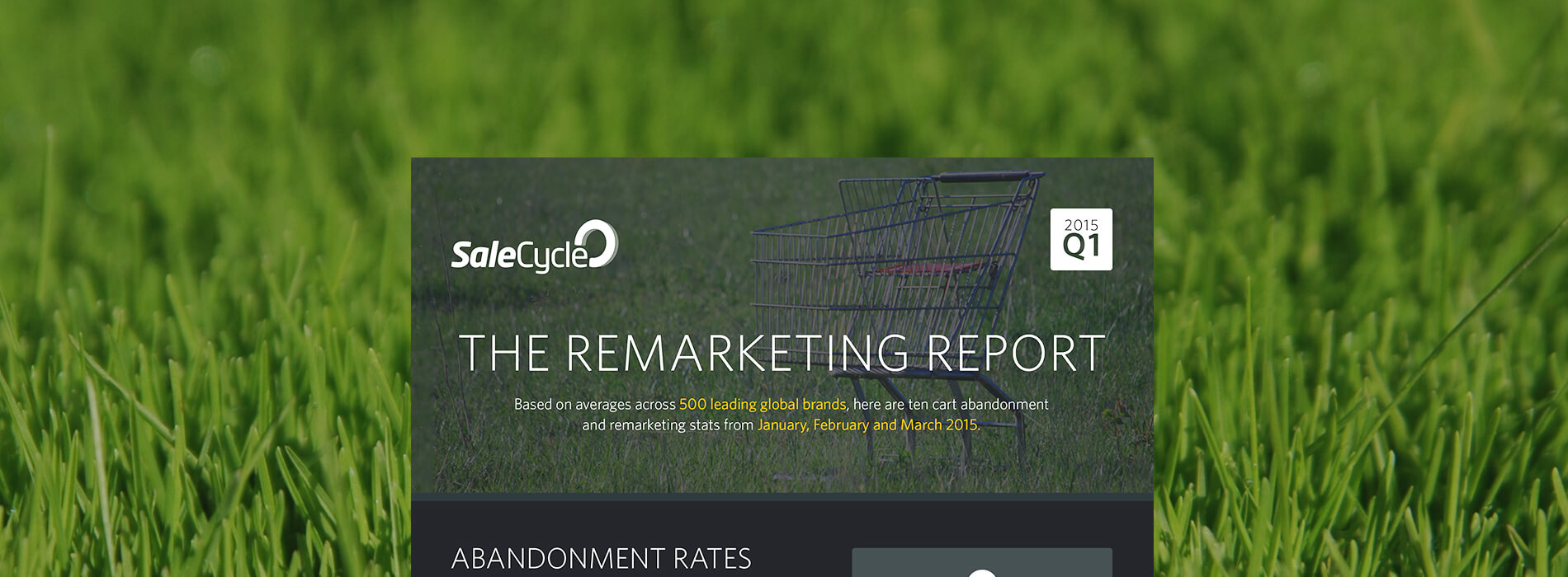 The Remarketing Report Infographic: Q1 2015