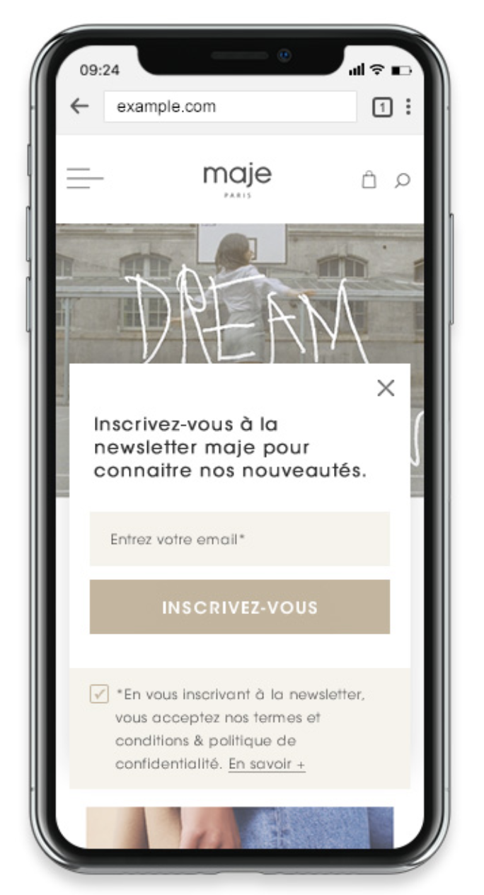 maje-responsive-mobile